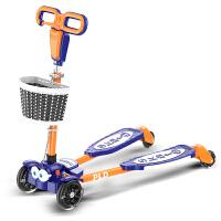 滑滑车4轮闪光36岁小孩宝宝四轮儿童四轮蛙式滑板车剪刀车