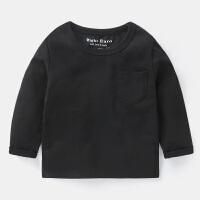 男童长袖T恤春装童装儿童宝宝上衣条底衫1岁3小童