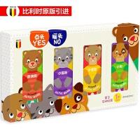 亲子互动玩具书-点头YES摇头NO共4册(泰迪熊、小猫咪、小老鼠、小狗)