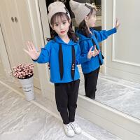 童装女童秋装套装2018新款韩版时尚春秋女孩长袖两件套秋季洋气潮