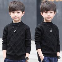 儿童毛衣秋冬季2018新款韩版针织线衫中大童套头线衣