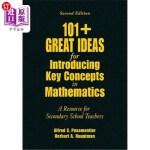 【中商海外直订】101+ Great Ideas for Introducing Key Concepts in Ma