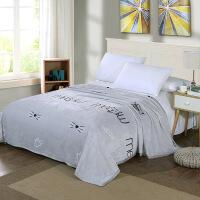 毛毯被子加厚冬季珊瑚绒床单男女短毛绒单双人宿舍学生毯子
