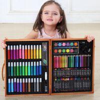 绘画彩笔学习用品水彩笔蜡笔美术工具箱儿童画笔套装礼盒画画工具