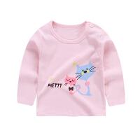 男童长袖T恤婴儿秋衣童装宝宝秋装儿童T恤秋冬上衣女童打底衫