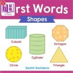 【中商海外直订】First Words (Shapes): Early Education Book of Learn