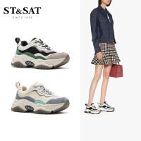 St&Sat/星期六春季专柜同款拼色老爹鞋运动休闲鞋女SS01112342