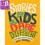 【中商原版】写给敢于与众不同的孩子 英文原版 Stories for Kids Who Dare to Be Diff