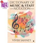 【中商海外直订】Dictionary of Music & Staff Notation