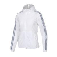 Adidas阿迪达斯 女装 运动防风衣休闲连帽夹克外套 DY8641