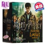 【中商原版】哈利波特:特斯莱特林挂坠和贴纸书套装 英文原版 Harry Potter Horcrux Locket a