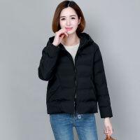 女2019保暖冬装外套女棉衣短款加厚微胖mm小棉袄 M 建议体重80-95斤