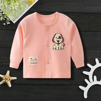 婴儿上衣宝宝春秋冬儿童薄款单件内衣男女宝宝开衫长袖