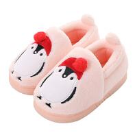 儿童棉拖鞋保暖冬季可爱男孩女孩棉鞋包跟