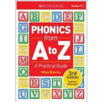 【现货】英文原版 自然拼读法使用指南:A-Z学语音指南 第三版修订版 5-8岁适用 Phonics from A to