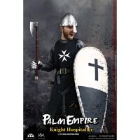 兵人 1/12 COOMODEL掌上帝国系列古代骑士模型 条顿骑士 圣殿 医院定制 医院骑士比例1比12 现货