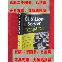 【二手旧书9成新】Mac OS X Lion Server For Dummies (16开) 【详见图】 /J