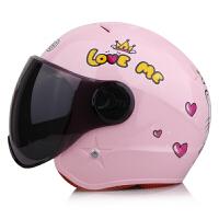 儿童电动车头盔4至6岁 坦克儿童头盔男孩女小孩宝电动摩托车可爱灰盗四季电瓶车安全头帽