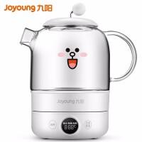 九阳(Joyoung)养生壶煮茶器煮茶壶电水壶热水壶烧水壶迷你玻璃家用小米白K08-D601(白)
