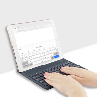 蓝牙键盘 华为M3/M2/M1/青春版/8.0/M5 8.4英寸平板电脑通用键盘套 变形支架皮套鼠