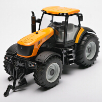 合金工程车拖拉机玩具拖拉机模型合金拖拉机车
