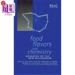 【中商海外直订】Food Flavors and Chemistry: Advances of the New Mil