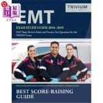 【中商海外直订】EMT Exam Study Guide 2018-2019: EMT Basic Review Bo