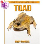 【中商海外直订】Toad! an Educational Children's Book about Toad wit