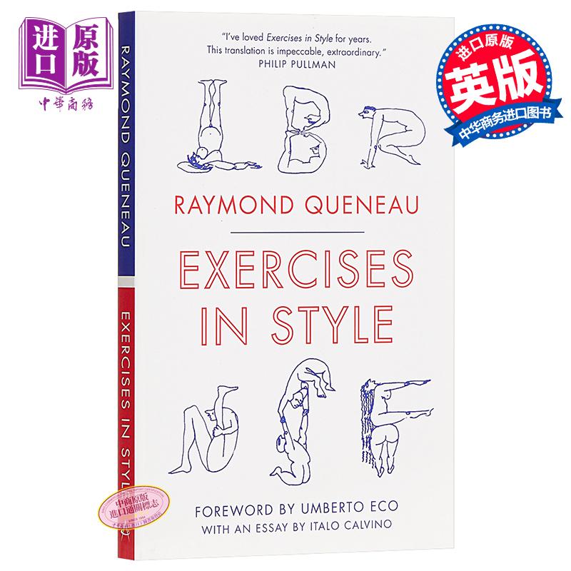【中商原版】风格练习 英文原版 Alma Classics:Exercises in Style / Raymond Queneau