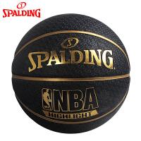 斯伯丁Spalding篮球highlight系列室外耐磨7号 橡胶球