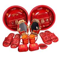 京朝中式婚礼用品结婚套装女方陪嫁新娘嫁妆洗脸盆婚庆洗漱套装