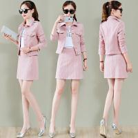 时尚套装裙女春装新款韩版气质连衣裙女春季上衣配短裙两件套