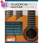 【中商海外直订】10 Classical Pieces for Guitar Ensemble
