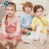 迷你巴拉巴拉婴幼童开衫2020夏季简约时尚室内防凉外套上衣