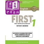 【中商原版】剑桥FCE考试1 真题集:学生书(无答案)英文原版 Cambridge English First 1 S