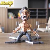 【六一儿童节特惠】 LBS GK 金刚狼 英雄 狼叔 X战警 雕像 手办 盒装 金刚狼18cm