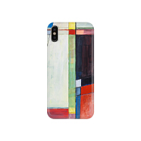 苹果iphone6s简约手机壳冷淡风8PLUS几何X水彩油画7plus情侣软套
