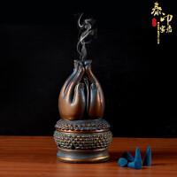 家用香炉复古怀旧室内供佛创意线香香插香薰炉泰国佛手熏香炉摆件 佛手香炉