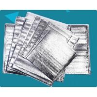 一次性铝箔保温袋 食品冷藏保鲜袋外卖保冰袋加厚隔热包100个
