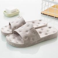 拖鞋女夏情侣室内浴室凉拖鞋防滑洗澡塑料软底夏季韩版居家居地板
