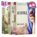 【中商原版】火山灰三部曲 英文原版 Ashfall Trilogy #1: Ashfall / #2: Ashen W