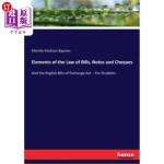 【中商海外直订】Elements of the Law of Bills, Notes and Cheques