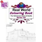 【中商海外直订】Real World Colouring Books Series 101