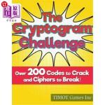 【中商海外直订】The Cryptogram Challenge Over 200 Codes to Crack an