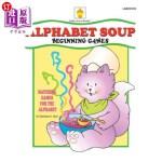 【中商海外直订】Alphabet Soup: Matching Games for the Alphabet
