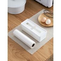 日本进口抽取式塑料袋收纳盒桌面垃圾袋盒子厨房整理盒抽屉储物盒