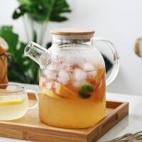 日式玻璃冷水壶套装耐热泡茶壶凉开水杯壶家用凉水壶电陶炉壶杯子