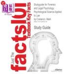 【中商海外直订】Studyguide for Forensic and Legal Psychology: Psych