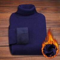 男士毛衣加绒加厚高领冬季学生保暖韩版修身针织衫线衫男装上衣潮