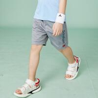 【3件3折:41元】souhait水孩儿童装夏季新款儿童针织五分裤男大童短裤运动短裤SHNXBD10CE583